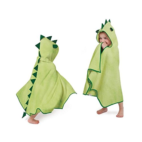 Cuddledry Cuddleroar Bamboo Toddler Dress Up Towel - Pack of 4