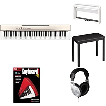 casio privia px160gd 88 key full size digital piano bundle with cs 67 stand sp33. Black Bedroom Furniture Sets. Home Design Ideas