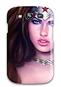 Hot New Wonder Woman Tpu Cover Case For Galaxy S3