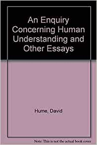 An Enquiry Concerning Human Understanding Background