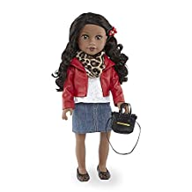 Journey Girls 18 inch Fashion Doll - Chavonne (Red Jacket)