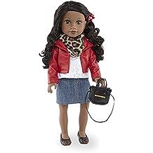 Journey Girls 18 inch Fashion Doll - Chavonne (Red Jacket)
