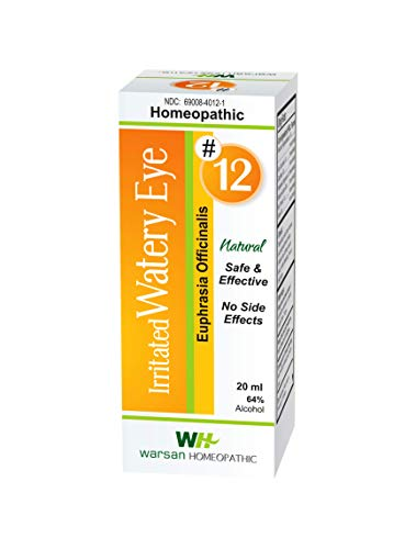 Irritated Watery Eye Relief - discomfort, Swelling, Itchy, Gritty, Crusty, Irritated, fatigued Eyes. All Natural