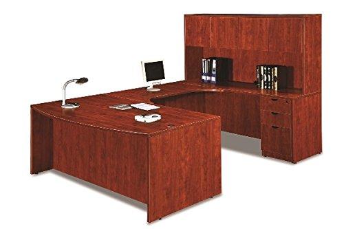 Marquis U-Shaped Desk W/Hutch Overall Dimensions: 71