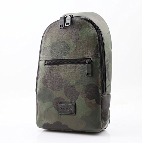 Coach Crossbody Pack in Military Wild Beast - Coach Mens Outlet