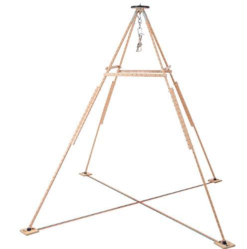 Pedalo® Pyramido® I Hängemattengestell I Aufhängeset I Garten I Klappbar I Hängestuhlgestell
