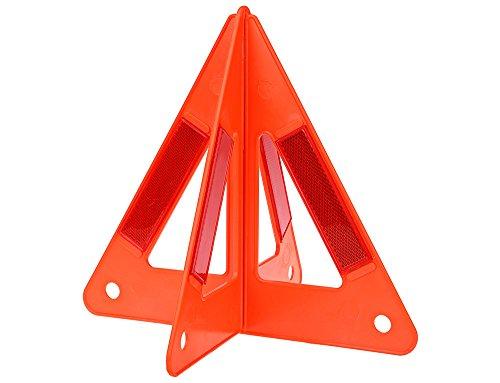 AUTOLOVER Car Safety Emergency Reflective Warning Triangle,Reflective Safety Warning Sign, Roadside Hazard Triangle Symbol Warning Sign, Early Warning Road Safety Triangle ()