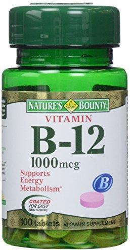 (Nature's Bounty Vitamin B-12 1000 mcg Tablets 100 ea)
