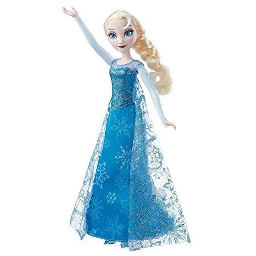 Disney Frozen – Muñeca Elsa Canta y Brilla (Hasbro B6173105)