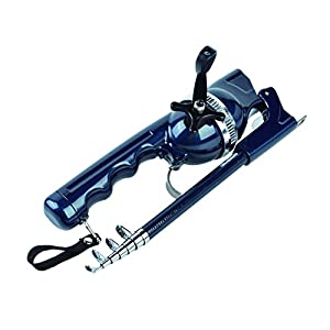 BLISSWILL Rod & Reel Combos Smooth Action Telescoping Pole Compatible with Fishing Line for Saltwater or Freshwater Fishing Rod Kit by BLISSWILL