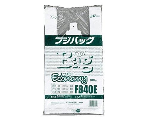 【業務用にもオススメ】 フジナップ エコバッグ エコノミー FB40E 100枚×20袋 626400 B012QXHZJ2