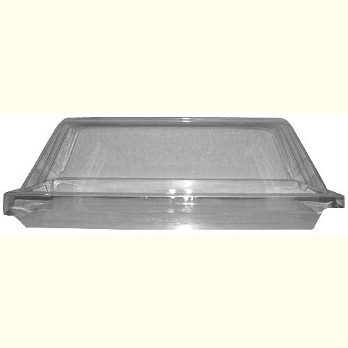 Self Serve Sneeze Guard for Hot Diggity Hot Dog Roller Grill
