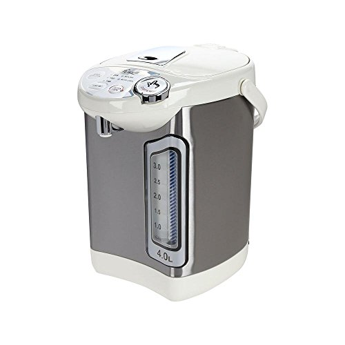Rosewill Electric Hot Water Boiler and Warmer, 4.0 Liter Hot Water Dispenser, Stainless Steel / White, R-HAP-15002 (Steel Tank Water Stainless Hot)