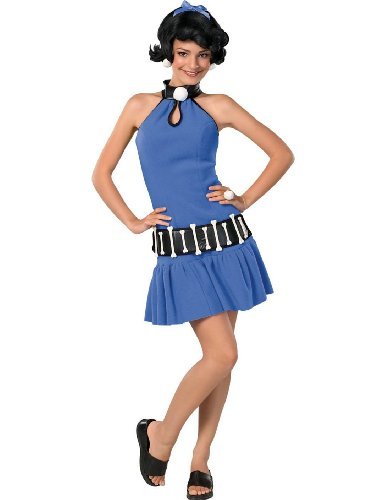 [Rubie's Costume Co Women's The Flintstone's Betty Rubble Teen Costume, Multi, One Size] (Wilma Flintstone And Betty Rubble Costumes)