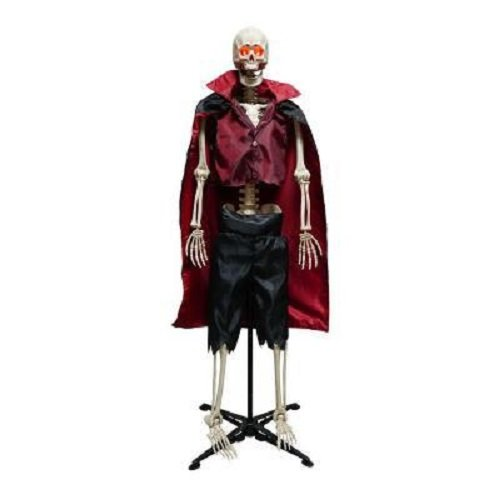 63'' Poseable Vampire with Adjustable Stand Halloween Prop by Home Accents Holiday (Image #1)