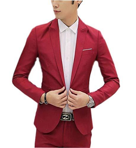 Costume De Color Sport Court Leisure Manteau Pour Blazer z7Pwx5qx