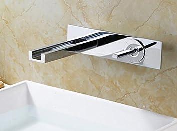Tourmeler Messing Chrom Badezimmer Wand Armatur Waschbecken ...