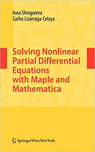 Solving Nonlinear Partial Differential Equations with Maple
