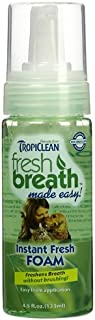 product image for TropiClean Fresh Breath Instant Foam Made in USA Size:Pack of 2