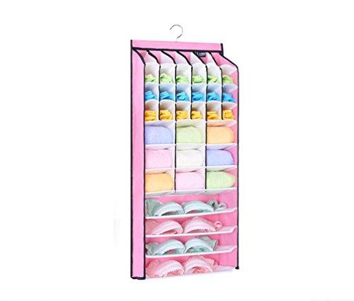 42 cells Hanging Closet Organizer/underwear organizer/bra