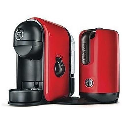 Máquina para café Lavazza Minu caffelatte sistema de cápsulas de color rojo