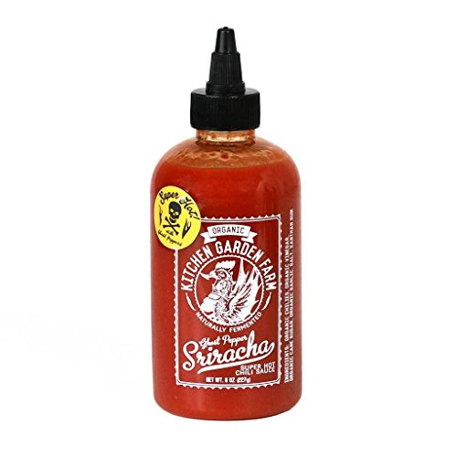 KITCHEN GARDEN Sauce Sriracha Pepper Ghost, 8 OZ ()