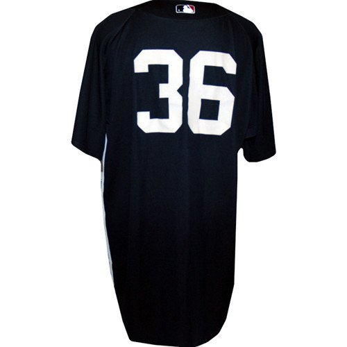 #36 Yankees Game Issued Road Batting Practice Jersey Year Unknown
