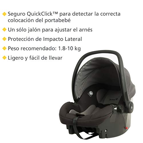 Safety 1st Smooth Ride Travel System with onBoard 35 Infant Car Seat, Lake Blue