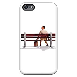 iphone 4 /4s High-definition mobile phone covers Protective Stylish Cases Sanp On forrest gump