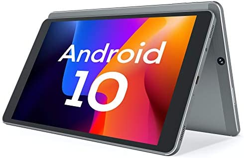 Android 10.0 Tablet, Vastking Kingpad SA10 Octa-Core Processor, 3GB RAM, 32GB Storage, 10-inch, 1920x1200 IPS, 5G Wi-Fi, GPS, 13MP Camera, Bluetooth, Blue Light Filter Screen, Silver Grey