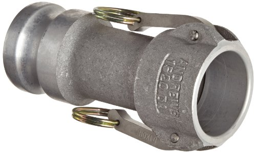 Dixon 1520-DA-AL Aluminum Cam and Groove Reducing Hose Fitting, 1-1/2