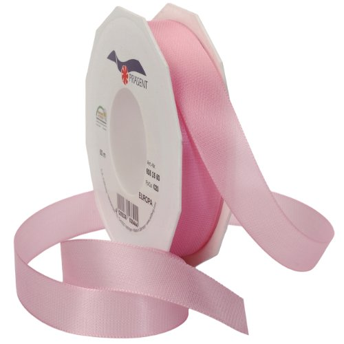 Morex Ribbon Europa Taffeta Ribbon Spool, 1-Inch by 55-Yard, Light Pink