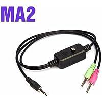 XOX MA2ライブストリームストリーミングライブアダプターケーブル(XOX KS108 K10サウンドカード用)