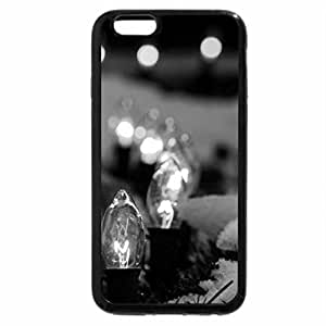 iPhone 6S / iPhone 6 Case (Black) spot lights in the snow