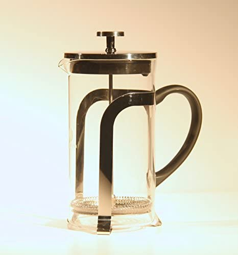 Caffeina French Press with Broad Grip Handle for Easy Pouring Makes Gourmet Tasting Coffee Every Time.