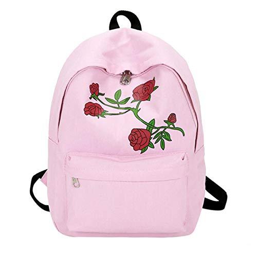 Women's Floral Rose Print Large Capacity ()
