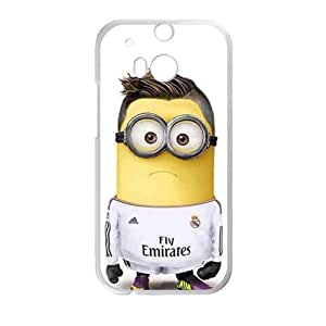 Cute Minions StylishHigh Quality Comstom Plastic case cover For HTC M8