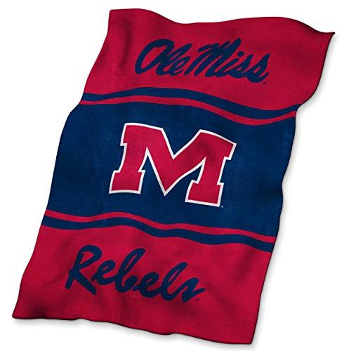 NCAA Mississippi (Ole Miss) Ultrasoft Blanket