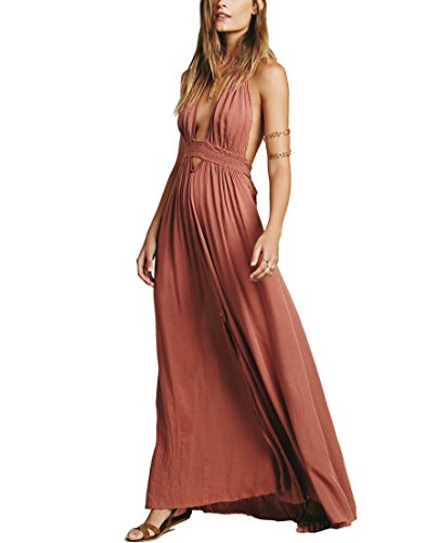 Dip Dye Maxi Dress - 1