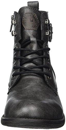 Bruno Banani 262 276 - Botas Militar Mujer Schwarz (Black)