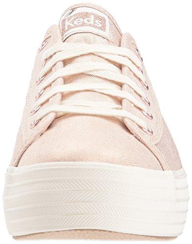 35 Metallic Zapatillas Dorado para Kick Gold Rose Gold Mujer Keds Linen Tpl AwEpxYqqP