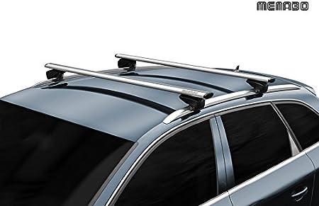 Barres de toit Railing pour voiture Viva 2/int/égr/ées en aluminium pour Suzuki Vitara /à partir de 2015