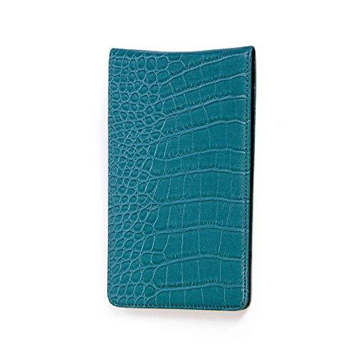 Magic Vosom Professional Golf Scorecard Holder Yardage Book Holder with Scorecard and Pencil Blue