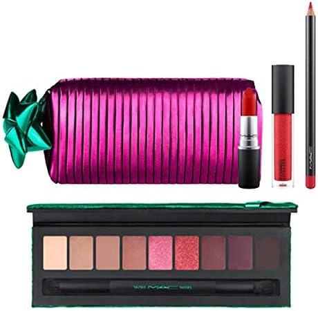 M.A.C ・マック, Shiny Pretty Things Goody Bag Red Lips & Eye Party Palette Rose Set [海外直送品] [並行輸入品]