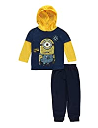 """Despicable Me Little Boys Toddler """"Whaaa?"""" 2-Piece Outfit"""