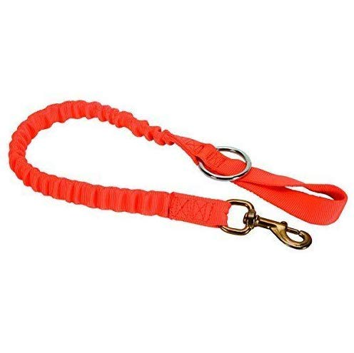 New WEAVER LEATHER ARBORIST LINEMAN BUNGEE CHAINSAW STRAP W/SNAP AND RING 08-98225