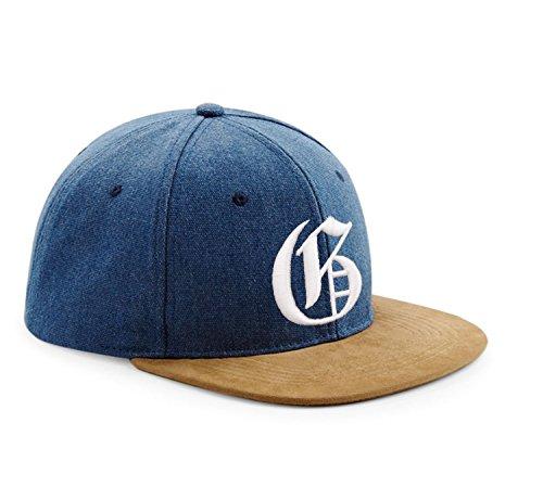 en tela Snapback G diseño de ante y con 3D béisbol J Multicolor gótico logo de letra con Gorra estilo rwIqBvr1