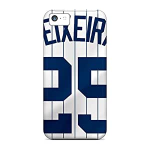 Snap-on Cases Designed For Iphone 5c- New York Yankees