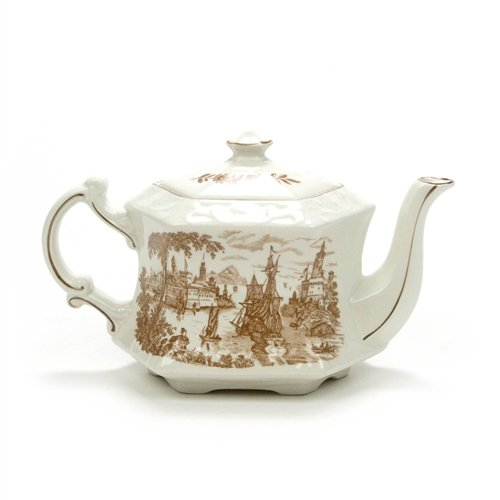 Safe Harbour by Royal Crownford, Ironstone Teapot