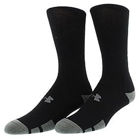 Under Armour Men's UA Resistor Crew Socks 6-Pack